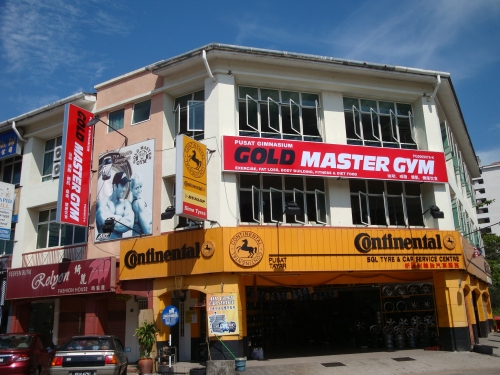 Gold Master Gym Physical Fitness